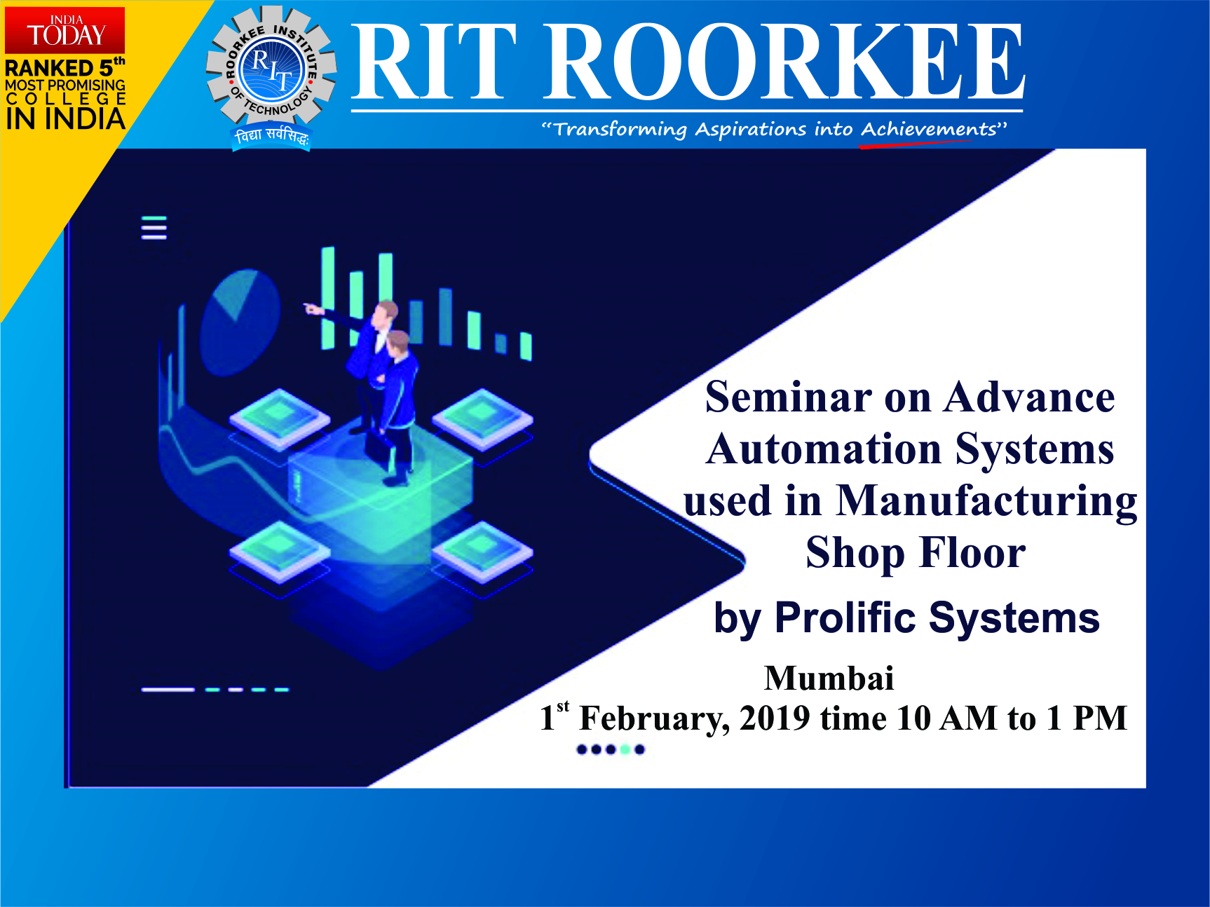 RIT Guest lecture On PLC and Automation