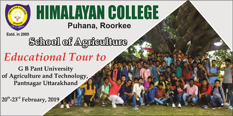 RIT Educational Tour GB Pant University of Agriculture and Technology