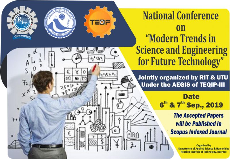 National Conference on Model Trends in Science and Engineering for