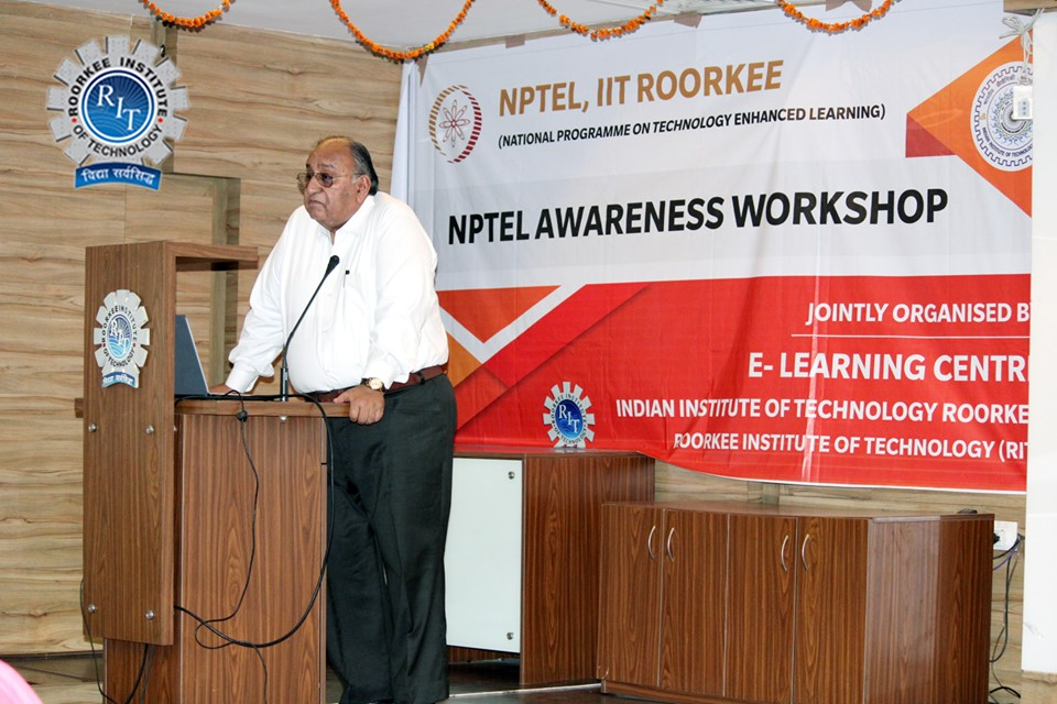 Grand opening of NPTEL Local Chapter at RIT Roorkee Campus