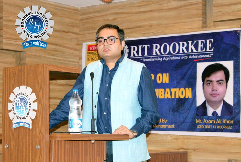 """RIT organized a Workshop on the topic titled """"Start-Ups and Incubation"""""""