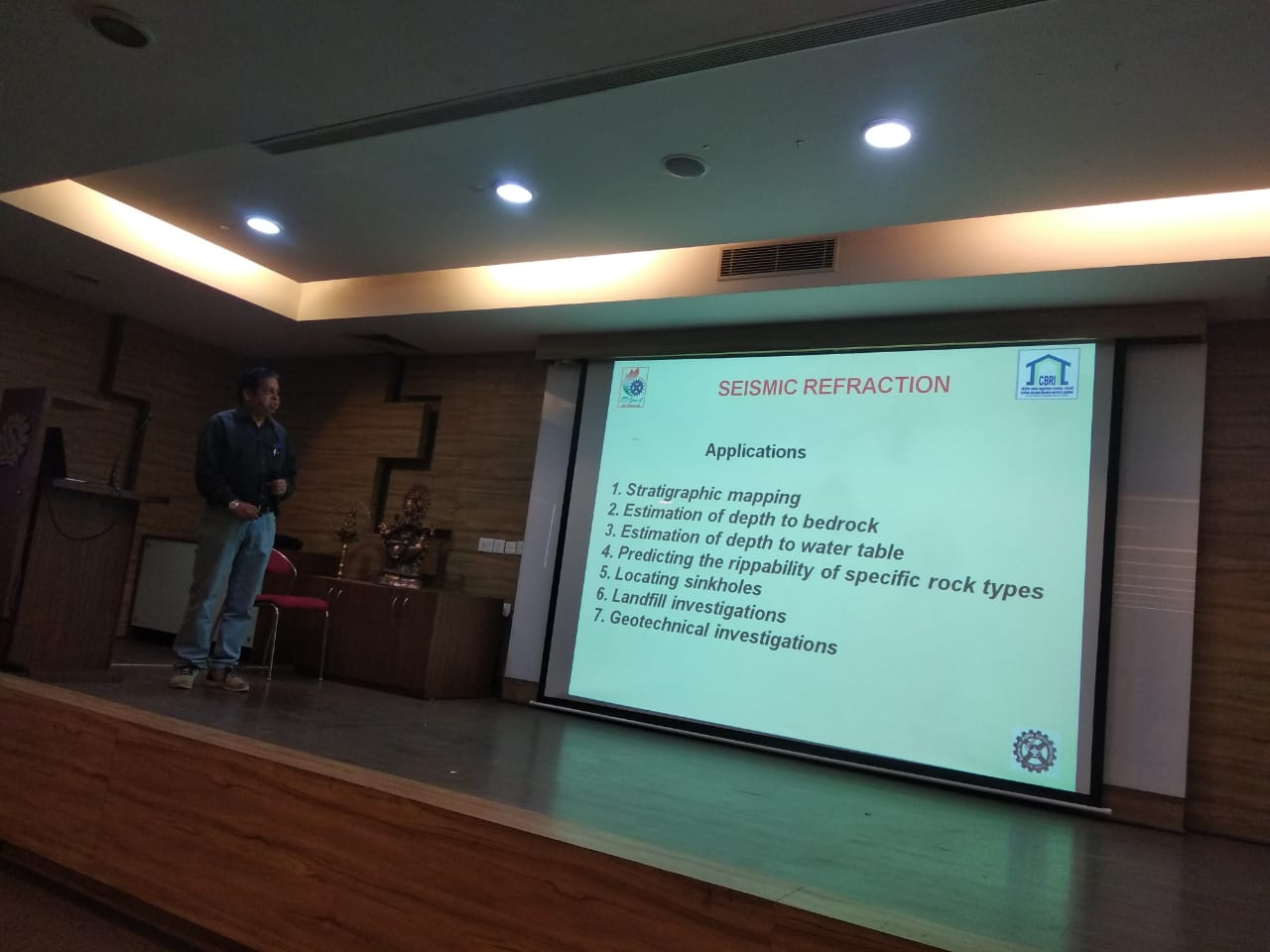 """Seminar on """"Site Investigation-Special at RIT"""