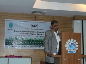 CII-IGBC launched students chapter in RIT