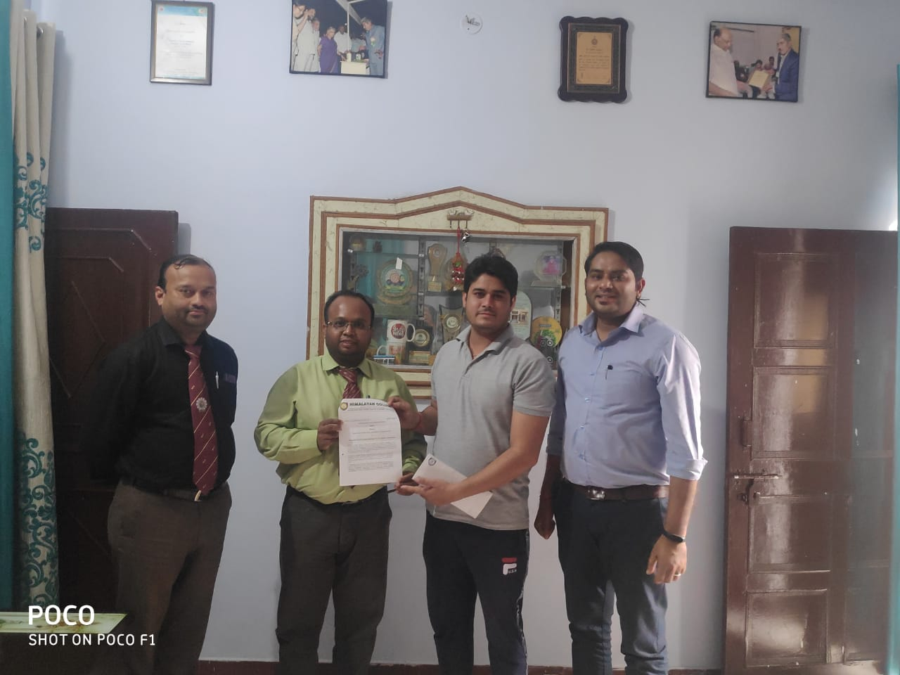 MOU signed between Himalayan College, Puhana, Roorkee and Dharmbir Food Processing Technology Pvt. Ltd