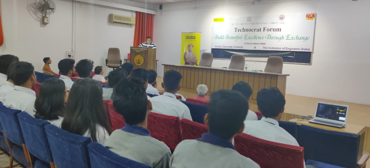 """Expert Lecture on """"Use of Nano-Technology in Cement"""" at RIT"""