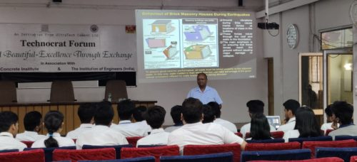 """Expert Lecture on""""Basics of Earthquake Engineering"""" at RIT"""