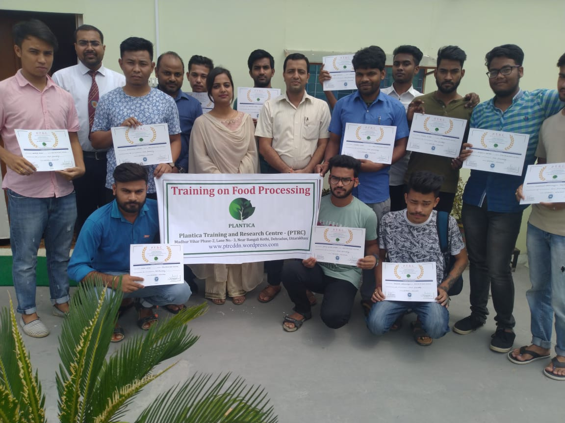 RIT Certified Training on Food Processing at Plantica & Training Research Centre,