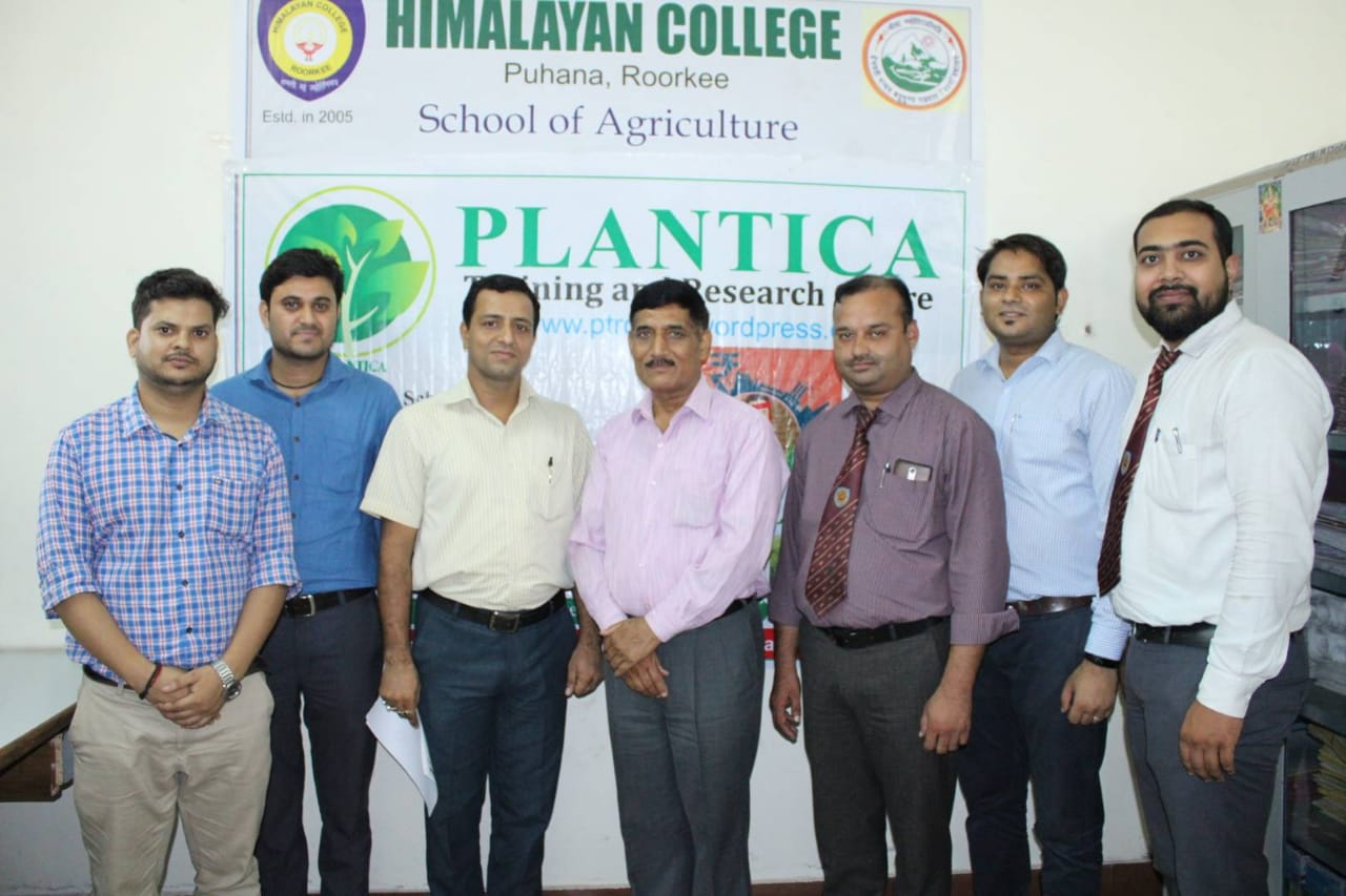Signing of MoU with Plantica Foundation RIT