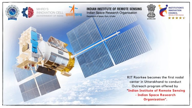 RIT becomes first center to conduct IIRS-ISRO Global Outreach Program
