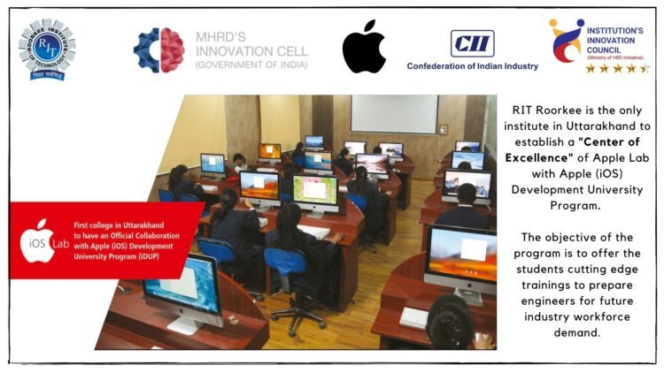 RIT is Centre of Excellence - Apple iOS Lab