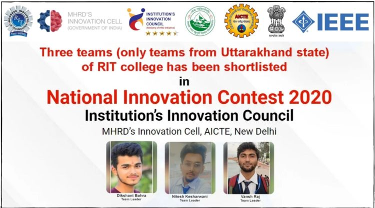 RIT national innovation contest