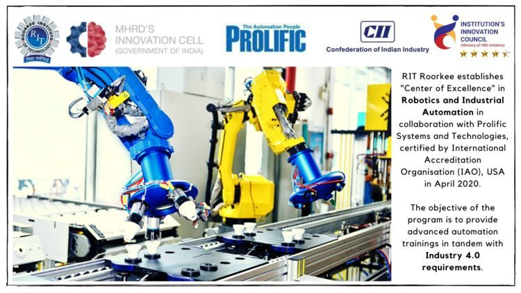 RIT-Centre of Excellence - Industrial Automation & Robotics