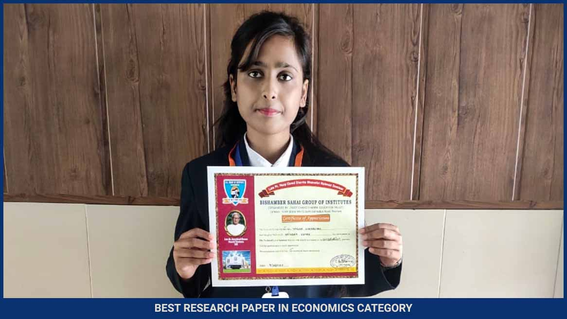 Research paper award