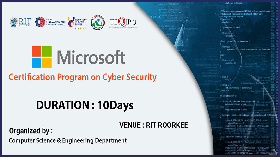 Microsoft Hacking and Cyber security Training at RIT