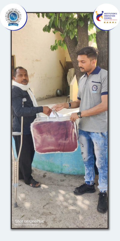 Cloth Collection And Distribution Drive RIT