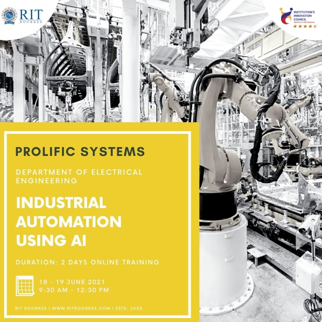 Industrial Automation Using AI