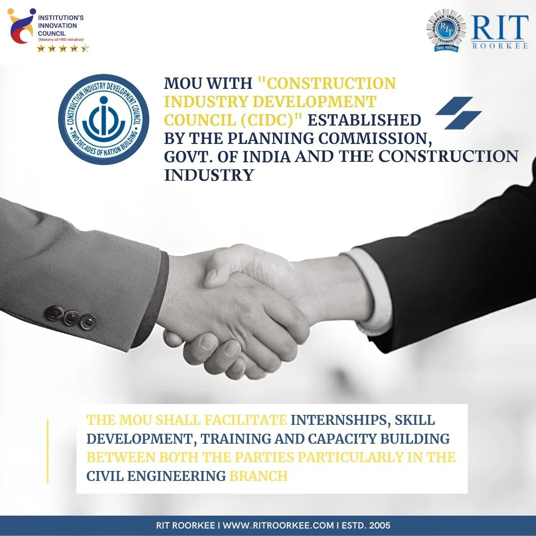 MOU with CIDC and construction industry
